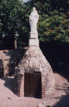 fontaine cavalier né vers