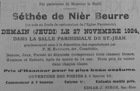 Séthée de Nièr Beurre 1924