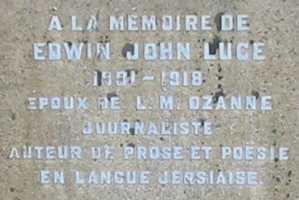 La sépultuthe d'E.J. Luce - 'Elie'